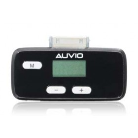 AUVIO  FM TRANSMITTER W/ OS 3.0 for iPod & iPhone