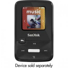 SANDISK CLIPZIP 8GB MP3 PLAYER