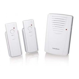 RadioShack 2 Bell Wireless Door Chime