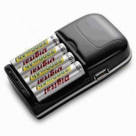 Vanson Slim Travel Plug-in Battery Charger
