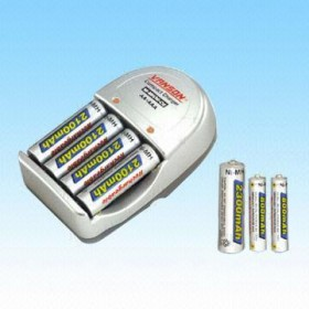 Vanson 4 AA/AAA & (9V) BATTERY CHARGER