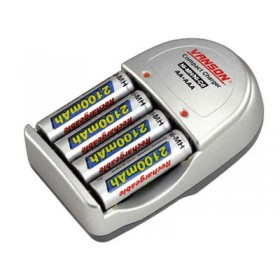 Vanson 4 AA/AAA & 9V BATTERY CHARGER
