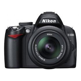 NIKON D3000 DIGITAL CAMERA 10.2M 3 inch LCD+BAG+2LENS+4G
