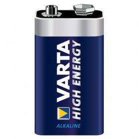 VARTA ALKALINE HIGH ENERGY 4922121411.9V/1