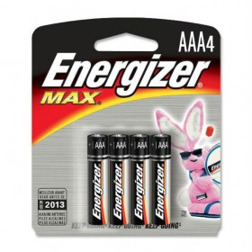 ENERGIZER ALKALINE BACK OF 4 AAA