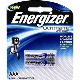 ENERGIZER 2 AAA LITHUM BATTERIES