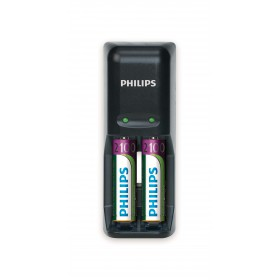 Philips SCB1290NB/12 MultiLife Battery charger + 2 AA