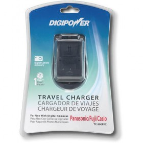 Digipower TC-500PFC AC Travel Charger for Panasonic/Fuji/Casio Digital Cameras Batteries