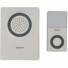 Legrand 94219 Wireless doorbell 36 melodies supply Batteries
