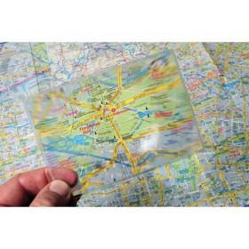Travel Blue 431 Magnifying Glass with Sleeve