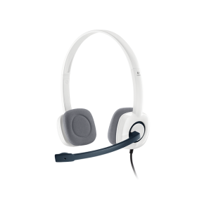 Logitech A-00029 Stereo Headset H150 , White