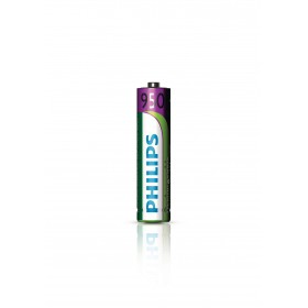 Philips R03B2A95/10  AAA Rechargeable Nickel-Metal Hydride Battery , 950mAh