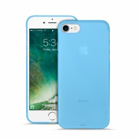 Puro P-IPC74703 Ultra Slim Cover Apple iPhone 7 and Screen Protector, IPC74703BLUE