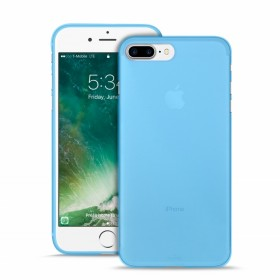 Puro P-IPC75503 Ultra Slim Cover Apple iPhone 7 Plus and Screen Protector, IPC75503BLUE