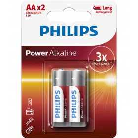 Philips LR6P2B/10 Power Alkaline Battery AA / LR6 Alkaline