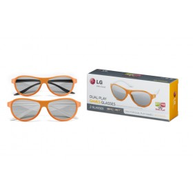 LG AG-F310DP Dual Play Glasses 2 Package 3D Glasses