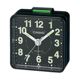 CASIO TQ-140-1D Alarm clock, black