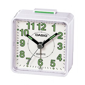 CASIO TQ-140-7D Alarm clock, white