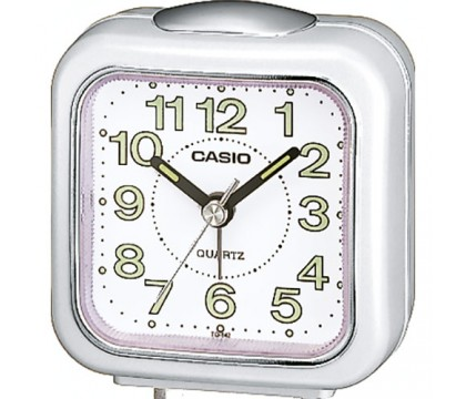 CASIO TQ-142-7D Alarm clock, white
