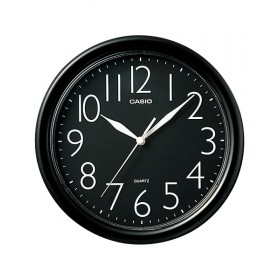 Casio IQ-01S-1D  Wall Clock, Black