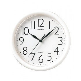 Casio IQ-01S-7D Wall Clock, White