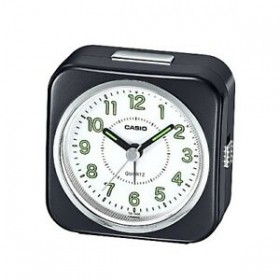 CASIO TQ-143S-1D ANALOG CLOCK, BLACK
