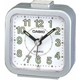 CASIO TQ-141-8D ANALOG CLOCK, SILVER