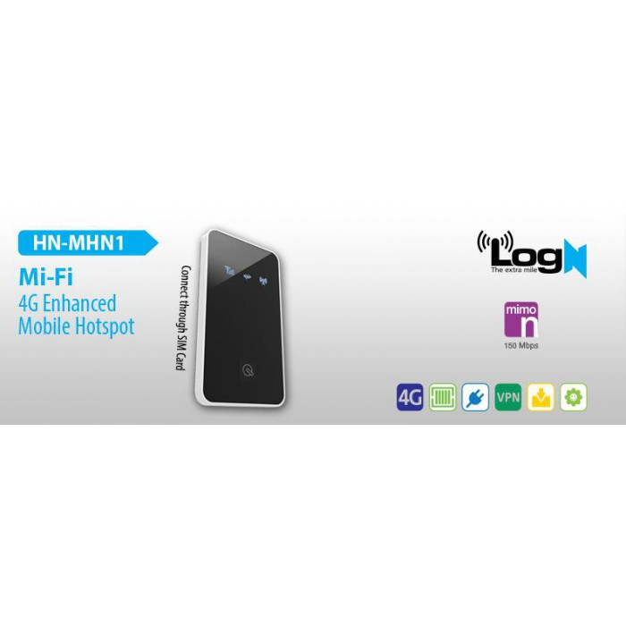 LOGN HN-MHN1 POCKET MIFI 150MBPS WIRELESS-N