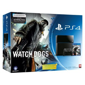 Sony CUH-1003A 500GB PlayStation 4 with Watch Dogs