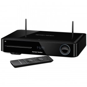 Harman Kardon BDS 580BQ/230-B2 5.1-channel, 325-watt, 3D Blu-ray Disc™ System with 3D Blu-ray Disc™ System with AirPlay, NFC and Bluetooth® technology