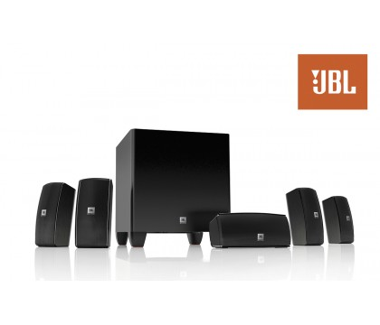 JBL CINEMA610AM Advanced 5.1 Home Theater Speaker System with Powered Subwoofer 60W RMS 99999259