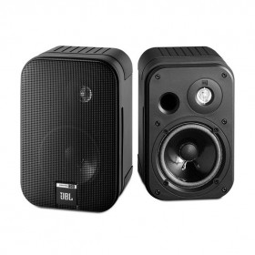 JBL CONTROL ONE 2-Way, 100mm (4 inch) Bookshelf Speaker, Black