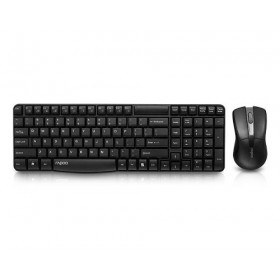 RAPOO X1800 WIRELESS COMPO MOUSE & KEYBOARD, BLACK