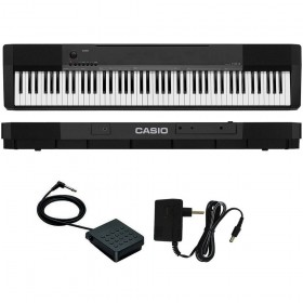 CASIO CDP-135BKC2 Digital Piano 88 KEYS + ADAPTER- ONLINE