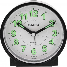 CASIO TQ-228-1DF ANALOG CLOCK - ONLINE