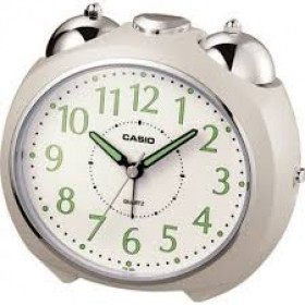 CASIO TQ-369-7DF  ANALOG CLOCK  Alarm