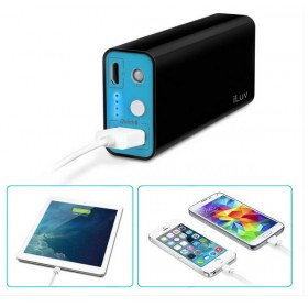 iLuv MYPOWER52BK 5200mah Portable USB Port Charger Battery Pack Power Bank with 1 USB Port, Black