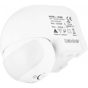NA-DE 10180 180° Wall Type Motion Sensor 12M. COV.