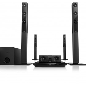 Philips HTB3580/40  5.1 CH 3D BLU-RAY HOME THEATER, BLUETOOTH AND NFC, 1000W