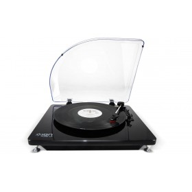 ION 35026 Pure LP Black USB Conversion Turntable for Mac & PC with Conversion Software