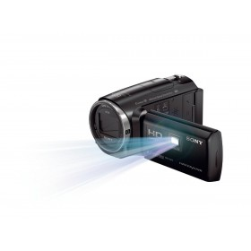 Sony HDR-PJ670 Handycam  9.2MP FULL HD,32GB,Wi-Fi,NFC and built in projector,BlacK.