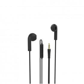 Hama 00137443 Advance In-Ear Headset, black