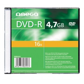 Omega OMD16S- DVD-R 4,7GB 16X  1Pack Slim