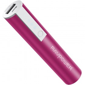 Ravpower RP-PB33 Power Bank  3350mAh for Mobile Phones, PINK