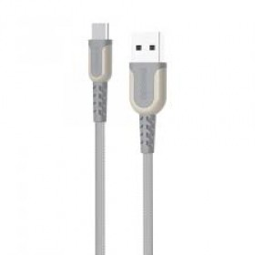 PORODO PD-CMETRP12 TYPE C TO USB CABLE 1.2M, GREY