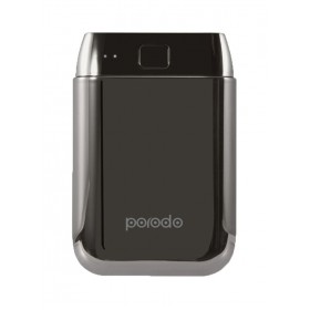Porodo PD-1006A Fashion Series Power Bank  10000 mAh, BLACK
