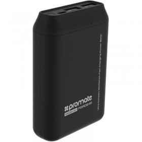 PROMATE FORCE-10 PoWeR BANK 10000 MAH, BLACK