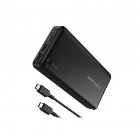 RAVPOWER RP-PB058 POWER BANK 26800MAH 30W, BLACK