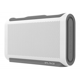 Braven Balance BALWGG IPX7 Waterproof Portable Wireless Speaker, White