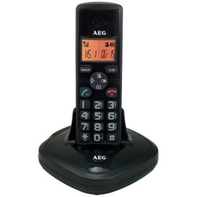 AGE Eagle Cordless Landline Phone - Black